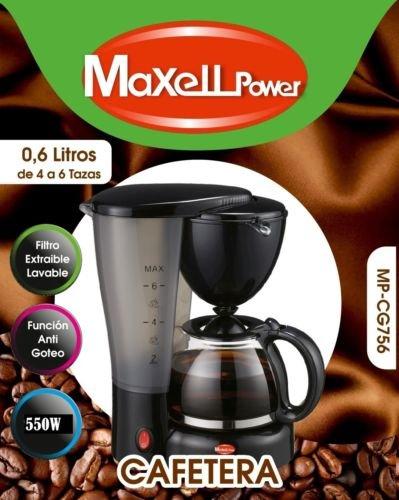 CAFETERA DE GOTEO ELECTRICA CAFE AMERICANO EXPRESS EXTRAIBLE 4 6 ...