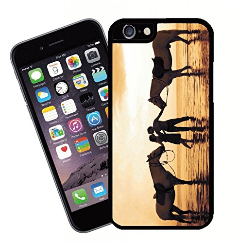Horses and Lovers - This cover will fit Apple model iPhone 7 (not 7 plus) - By Eclipse Gift Ideas