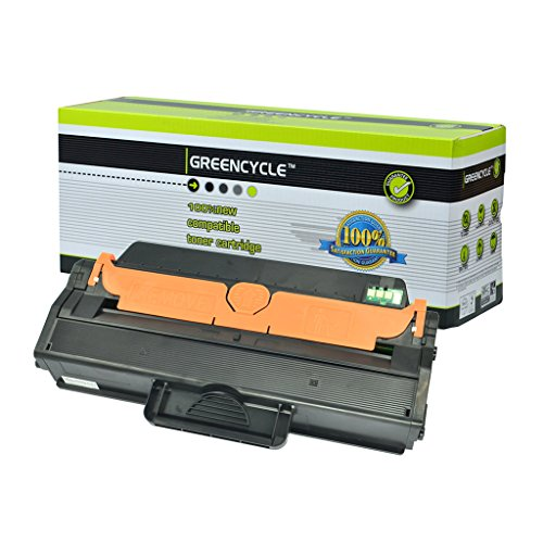 GREENCYCLE 1 Pack MLT-D115L D115L Black Toner Cartridge Compatible For Samsung SL-M2880FW Laser Printer
