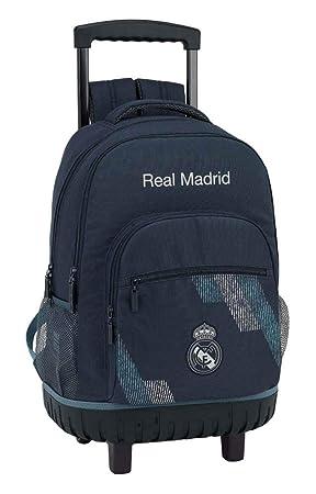Safta Mochila Grande Ruedas Compact Real Madrid, Unica 611834818: Amazon.es: Juguetes y juegos