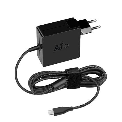 KFD 65 W-45 W USB-C cargador adaptador para ordenador portátil fuente de