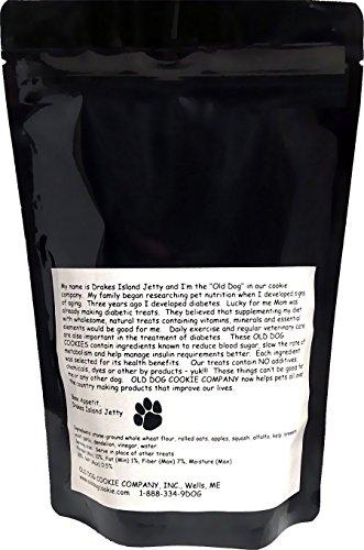 ALL Natural Diabetic TINY Dog Treats, 8 oz- Vet Approved