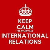 Keep Calm Im Studying International Relations Coaster - 9cm Square by Artform Prints