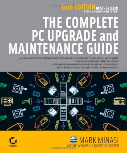 The Complete PC Upgrade and Maintenance Guide, 16e-cover