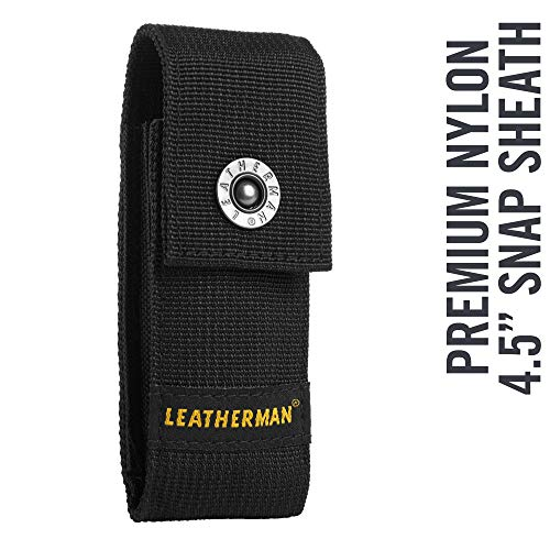 "LEATHERMAN - Premium Nylon Snap Sheath Fits 4.5"" Multitools,"