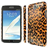 EMPIRE Slim Fit Brown Leopard Case for Samsung Galaxy Note 2 II