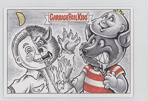 Panoramic Card (Barry Nygma; JM Monserrat #1/1 (Trading Card) 2017 Topps Garbage Pail Kids Battle of the Bands - Double Artist Panoramic Sketch Cards #BNJM)
