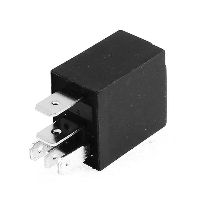 DealMux de relé de alarma del coche interruptor de alimentación de 5 polos SPDT NO NC 24 voltios de 30 amperios: Amazon.es: Coche y moto