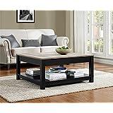Ameriwood Home 5047196PCOM Carver Coffee Table, Black