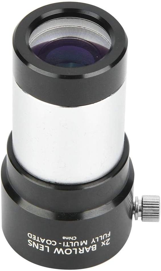 Neufday Astronomical Telescope Monocular Eyepiece 1.25 Inch 2X Barlow Lens