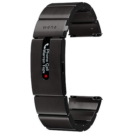 Wena Active by Sony - Correa de Fitness Inteligente para Relojes con GPS y Sensor óptico