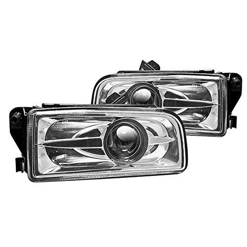 (Winjet WJ30-0078-09 Street [1992-1998 BMW E36 3-Series] Clear Lens Driving Projector Fog Lights)