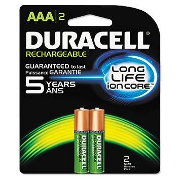 Amazon.com: Duracell – Pilas recargables NiMH con duralock ...