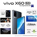 Vivo X60 (Midnight Black, 12GB RAM, 256GB Storage) with No Cost EMI/Additional Exchange Offers