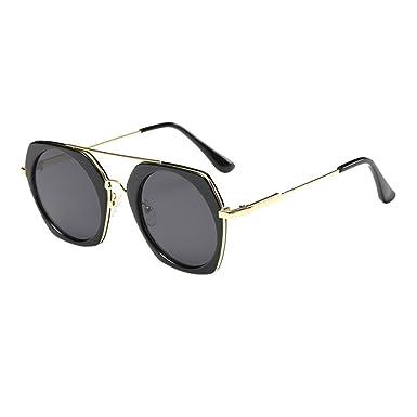 Haodasi Ellipsen Rahmen Kurzsichtig Sonnenbrille Farbverlauf Kurzsichtigkeit Brille Anti-UV Brillen a9z2r