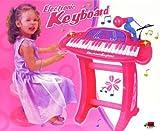 ukbazar électronique pour enfant 36-key Clavier Piano enregistrement microphone avec tabouret Rose