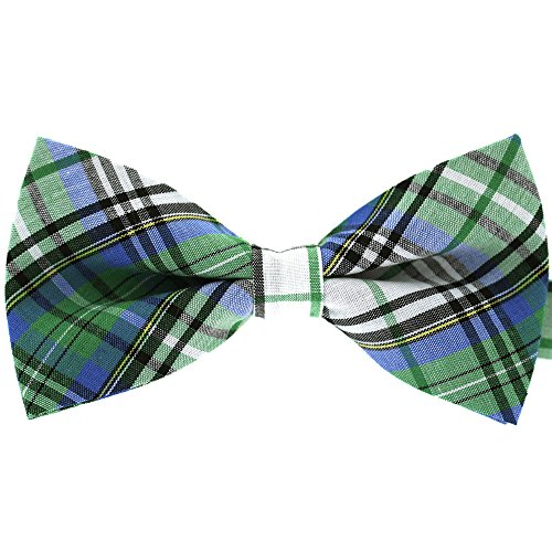 Tok Tok Designs® Handmade Men Bow Ties - B54 (TC Cotton Fabric)