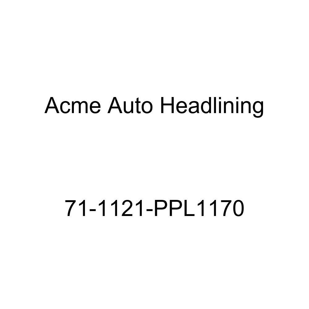 Acme Auto Headlining 71-1121-PPL1170 Dark Blue Replacement Headliner 1971 Buick GS and Skylark 2 Door Coupe and Hardtop