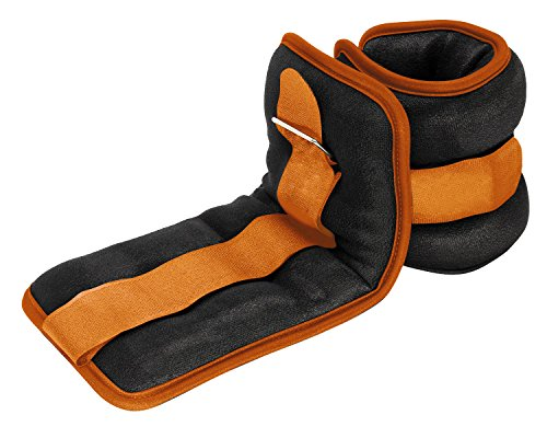 Reehut Durable Ankle/Wrist Weights (1 Pair) w/Adjustable Strap for Fitness, Exercise, Walking,...