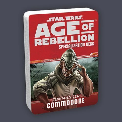 Star Wars Age of Rebellion: Commodore Specialization Deck