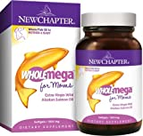 Cheap New Chapter Wholemega for Moms, 90 Softgels (2-Pack)