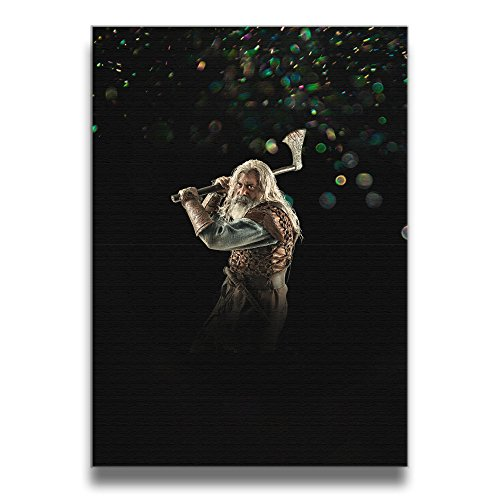 Bekey Vikings Season 4 Character Art Photo For Home Office Decorations Wall Decor For Living Room&bedroom