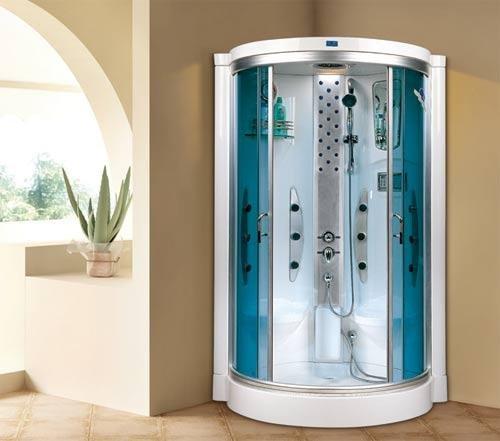 Cabina de ducha de vapor de 2 plazas Enclosure Cubículo nuevo Xavier Sauna Dos