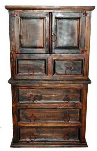 Dark Mansion Door Chest of Drawers  Rustic  Western  Real Wood  Tall Dresser. Amazon com  Dark Mansion Door Chest of Drawers  Rustic  Western