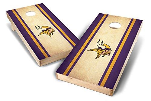 PROLINE NFL 2'x4' Minnesota Vikings Cornhole Set - Nostalgia Design