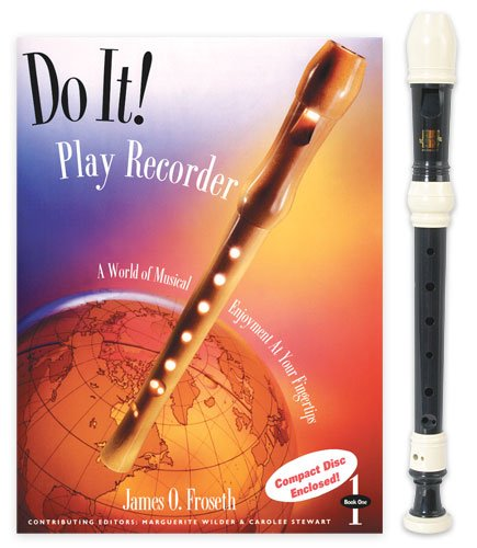 Harmony 3-Piece Recorder Pack with Do it! Play Recorder Book/CD by James ()