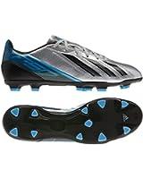 Adidas Mens F10 TRX FG Soccer Cleats Silver/Black/Joy Blue Q34786