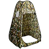 Cheap Super buy Portable Camo Changing Tent Pop Up Privacy Room Bathing Toilet Shower Outdoor Camping Shelter w/ Carrying Bag Camouflage