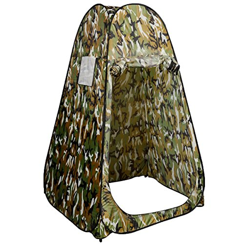 Super buy Portable Pop UP Fishing & Bathing Toilet Changing Tent Camping Room Camouflage