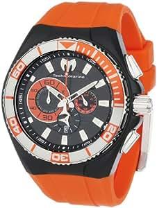 TechnoMarine 112011 - Reloj para hombres color naranja
