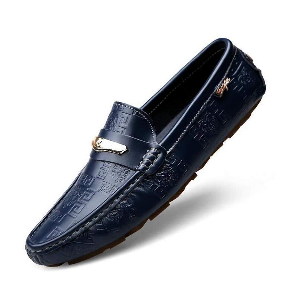 Hy Herrenschuhe Herrenschuhe Herrenschuhe Frühlingsschuhe für die Schuhe Flache Atemschuhe Wanderschuhe,Blau,40 c951de