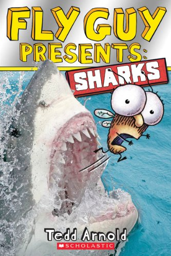 Fly Guy Presents: Sharks (Scholastic Reader, Level 2) (2 Fly Level Guy)