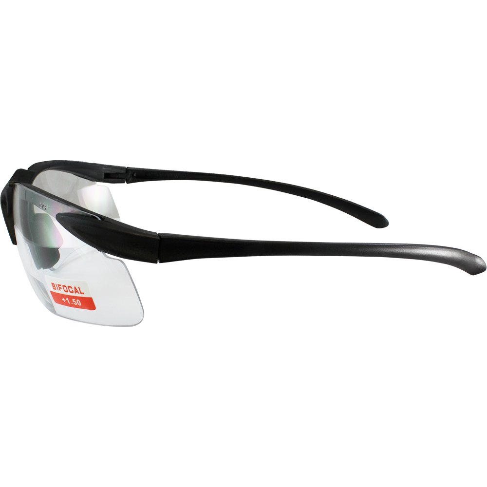 Apex clear bifocal safety glasses 1.5 power by Cglasses (Image #3)