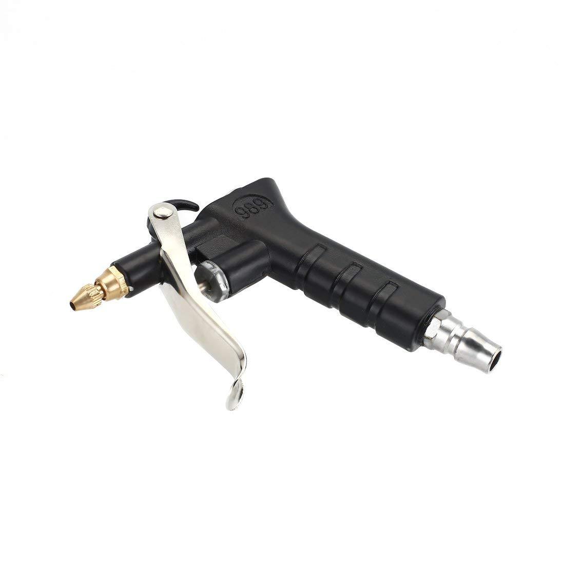 WEIHAN Multiuso Compresor de aire Duster Pistola de soplado de aire Boquilla de cobre Pistola de pulverizaci/ón Mango Plumero de aire Limpieza Herramienta pr/áctica