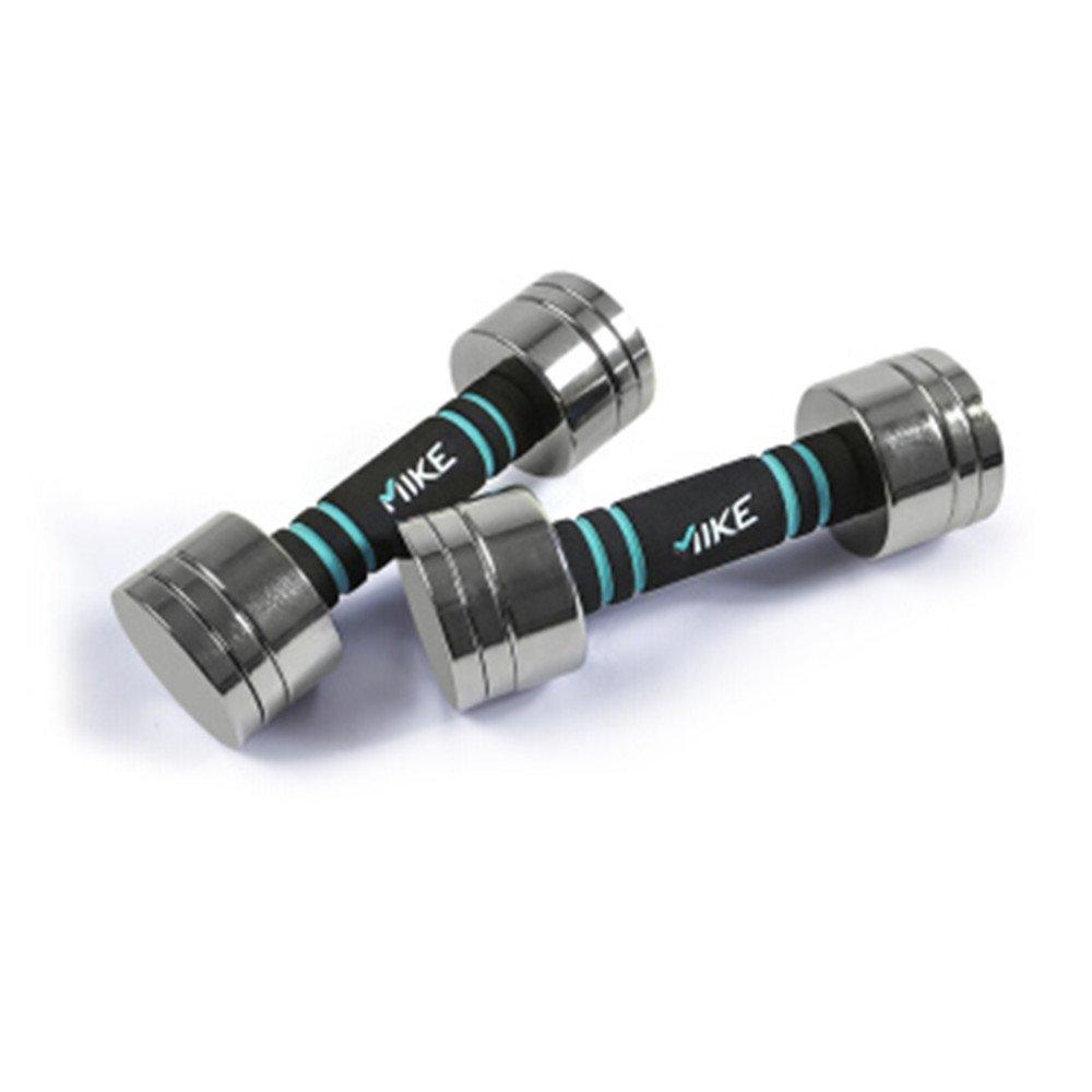 ホームフィットネス電気メッキ純粋な鋼のダンベル/精練腕の筋肉   B079GVY575
