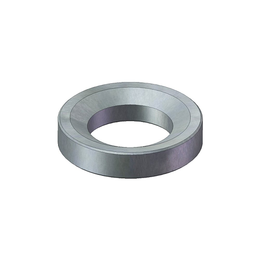 J.W. Winco 23NG40/DNI DIN6319-NI Dished Washer, 23 mm I.D, 303 Series Stainless Steel by JW Winco