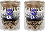 Wilton 415-2872 150 Count Elegance Baking Cups Value Pack, Assorted(2 packs of 150)