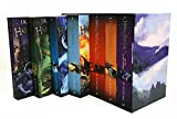 img - for New Series Edition Harry Potter J.K. Rowling Complete Book Set Lot Box Paperback book / textbook / text book