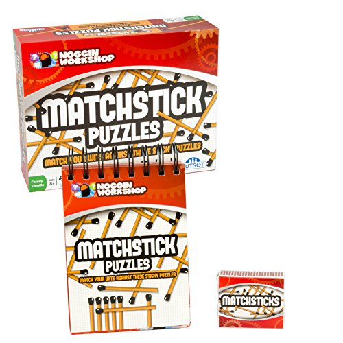 (Outset Media - Matchstick Puzzles - Challenge You Mind and Wits with These Sticky)
