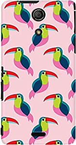DailyObjects Pink Toucan Case For Sony Xperia ZR