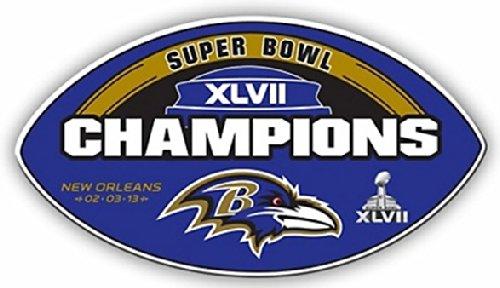 (Baltimore Ravens NFL Licensed Super Bowl XLVII Champions Car/Truck)
