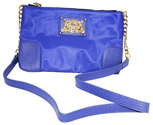 Juicy Couture Easy Everyday Nylon Lou Lou Cross Body Bag (purple)