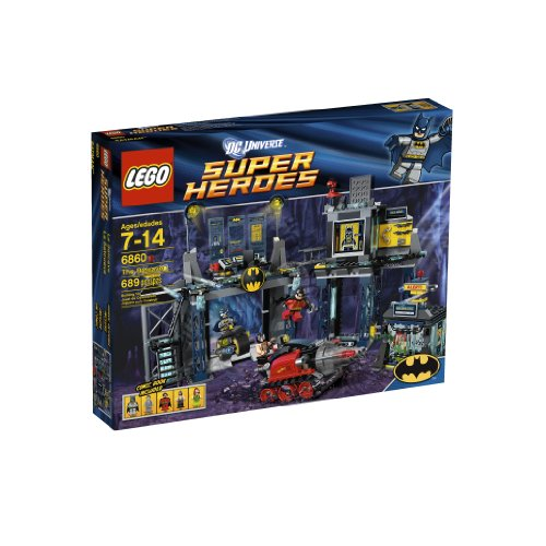 משחקי לגו- LEGO Super Heroes The Batcave 6860