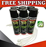 Noxudol Rust Protection Cavity Wax 6 Pack with Free 24'' Wands