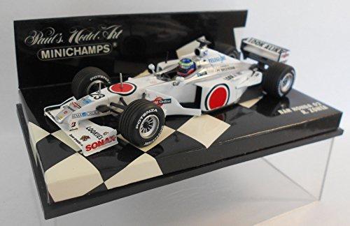 Minichamps 430000023 Modell Auto Bar 02 Honda Villeneuve Maßstab: 1: 43