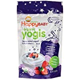 Happy Baby happyyogis Organic Superfoods Yogurt and Fruit Snacks, Mixed Berry - 1 oz